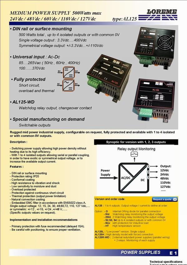 LOREME - Capteurs, convertisseurs et indicateurs